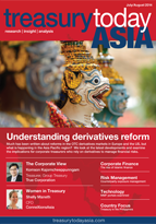 Treasury Today Asia July/August 2014 magazine cover