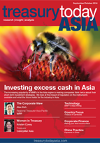 Treasury Today Asia September/October 2014 magazine cover