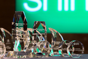 Adam Smith Awards Asia 2014 crystal awards