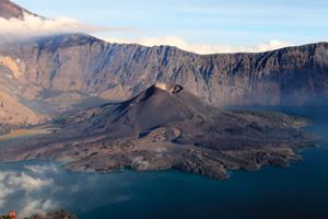 Mount Rinjani Crater