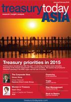 Treasury Today Asia January/February 2015 magazine cover