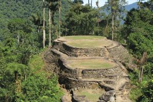 Famous ancient achaeological attraction, La Ciudad Pedida lost city