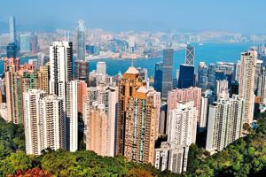 City skyline of Hong Kong