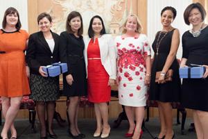 Women in Treasury Asia panellists