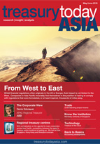 Treasury Today Asia May/June 2015 magazine cover
