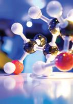 Science molecule model structure