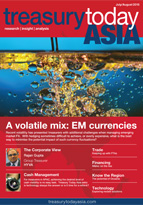 Treasury Today Asia July/August 2015 magazine cover