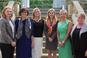 Women in Treasury London Forum 2015 panellists