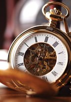 Old fashioned pocket watch