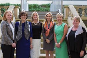 Women in Treasury London Form panellists group shot