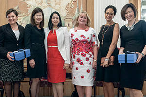 Women in Treasury Asia Forum 2015 panellists