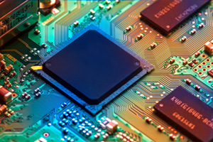 Micro chip computer board