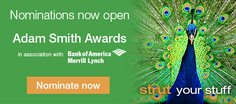 Adam Smith Awards 2016 in association with Bank of America Merrill Lynch – Nominate now