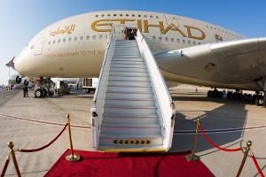 Etihad Airways jet. Credit: Dmitry Birin / Shutterstock.com
