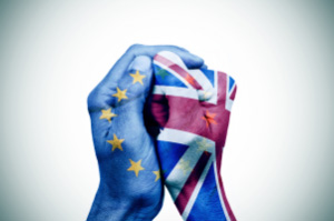 BREXIT fists