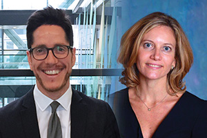 Peter Cunningham and Emanuela Saccarola, Citi