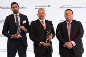 Etihad Airways, Winner Treasury Today's Top Treasury Team, Best Financing Solution and Best Cash Management Solution