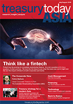 Treasury Today Asia July/August 2016 magazine cover