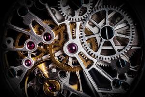 Mechanism of clockwork of a watch