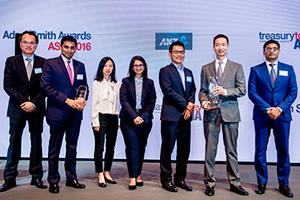 Adam Smith Awards Asia Top Treasury Team