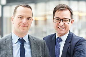 Wim Grosemans and Adrian Brown, BNP Paribas