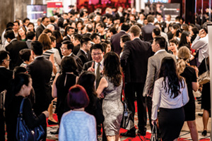 Adam Smith Awards Asia 2016 people networking