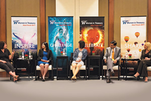 Women in Treasury Asia Forum 2017 panellists