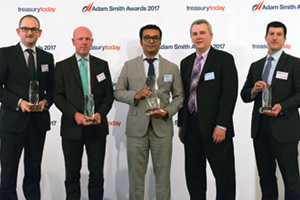 Adam Smith Awards 2017 top treasury team – Herc Rentals