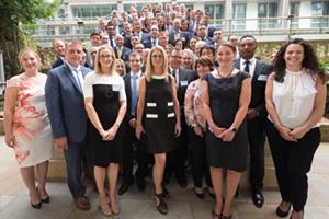 Treasury Today Adam Smith Awards 2017 winners group shot