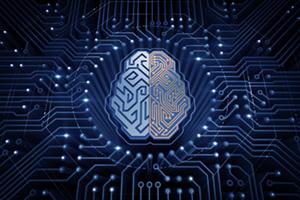Cybernetic brain on electronic chip board