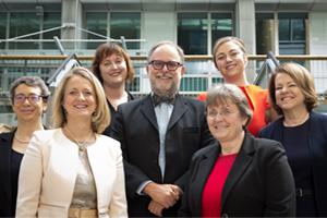 Women in Treasury London Forum 2017 panellist group shot