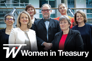 Women in Treasury London Forum 2017 panellist group shot