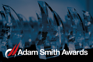 Adam Smith Awards crystal awards