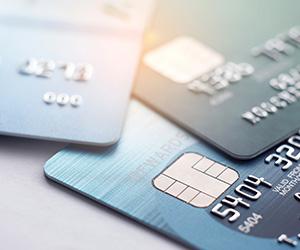 credit card close shot