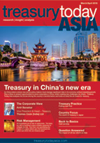 Treasury Today Asia March/April 2018 magazine front cover