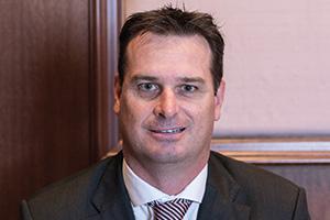 Photo of Chris Emslie, Group Treasurer, General Mills