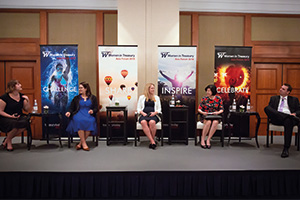 Women in Treasury Singapore Forum 2018 panellists