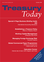 Treasury Today October 2002 magazine
