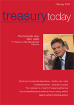 Treasury Today February 2004 magazine cover