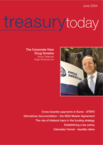 Treasury Today June 2004 magazine cover