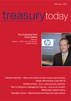 Treasury Today February 2005 magazine cover