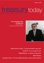 Treasury Today March 2005 cover