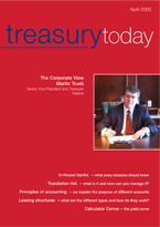 Treasury Today April 2005 cover