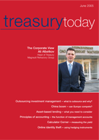 Treasury Today June 2005 cover