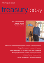 Treasury Today July/August 2005 cover