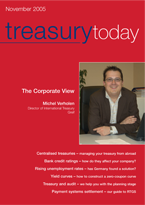 Treasury Today November/December magazine cover