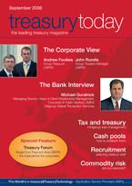 Treasury Today September 2006 magazine cover