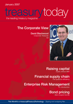 Treasury Today January 2007 magazine cover