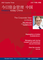Treasury Today in China Issue 3 2007