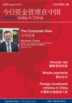 Treasury Today in China Issue 3 2008